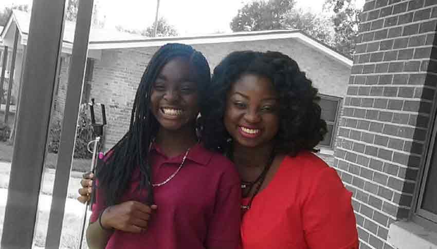 Big Sister Deborah and Little Sister Deahajah