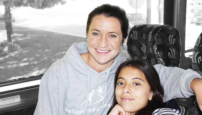 Big Sister Chelsea and Little Sister Esmeralda