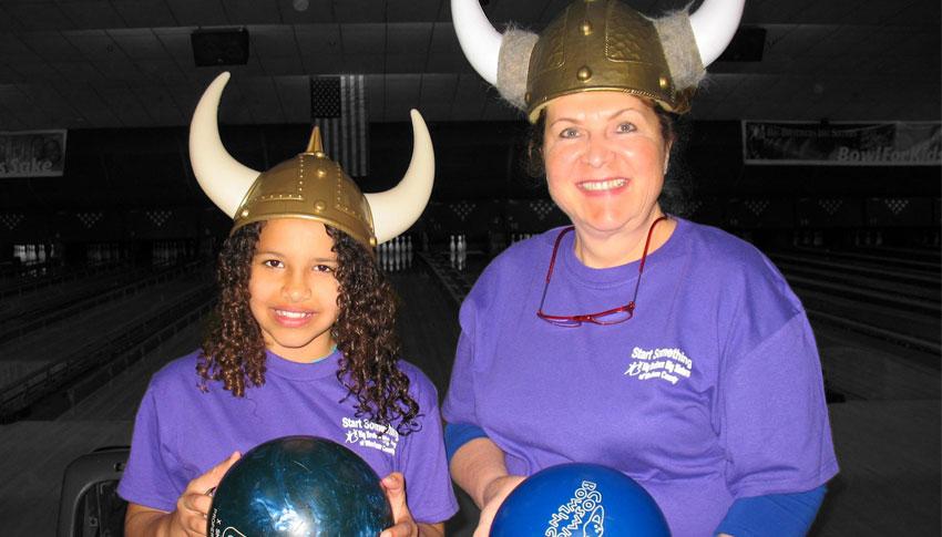 Big Sister Diane and Little Sister Jaelynn