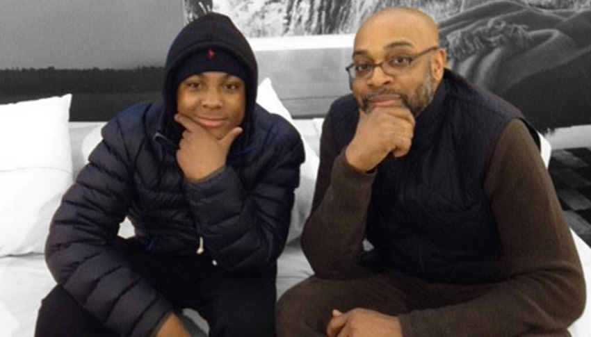 Big Brother Tony and Little Brother Nasir