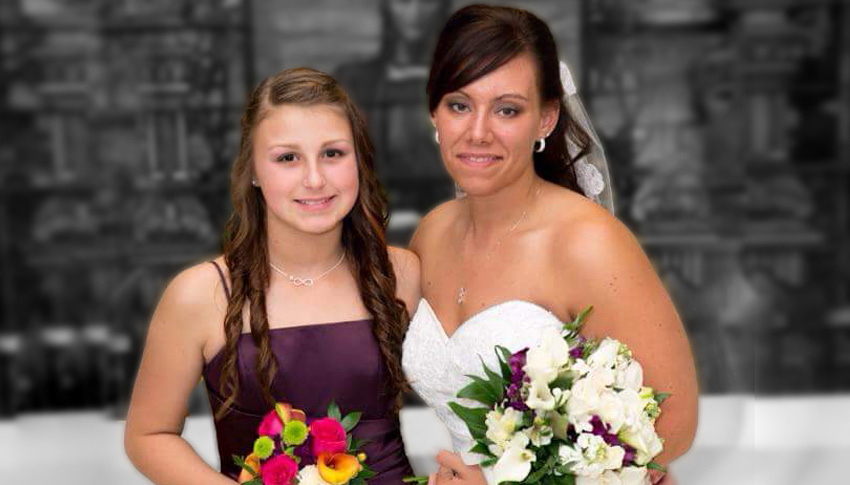 Big Sister Shannon and Little Sister Courtney