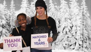 Big Sister Lauren and Little Sister Shyae