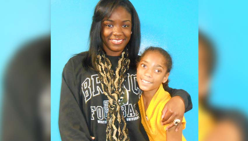 Big Sister Reina and Little Sister Alexia