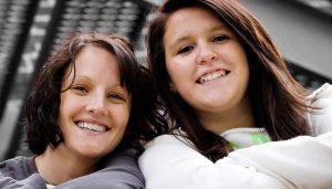 Big Sister Angela and Little Sister Monica