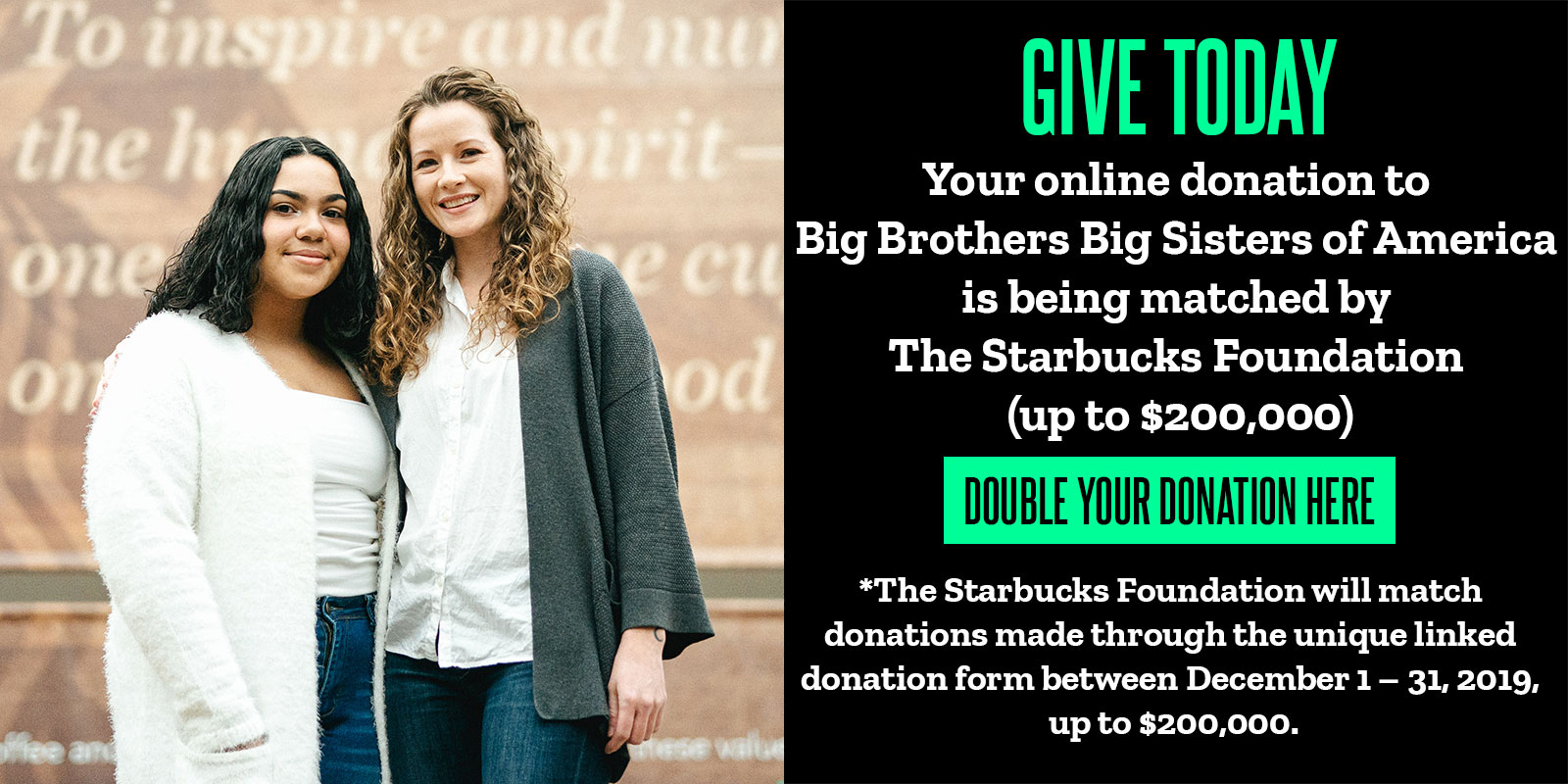 Starbucks Donation
